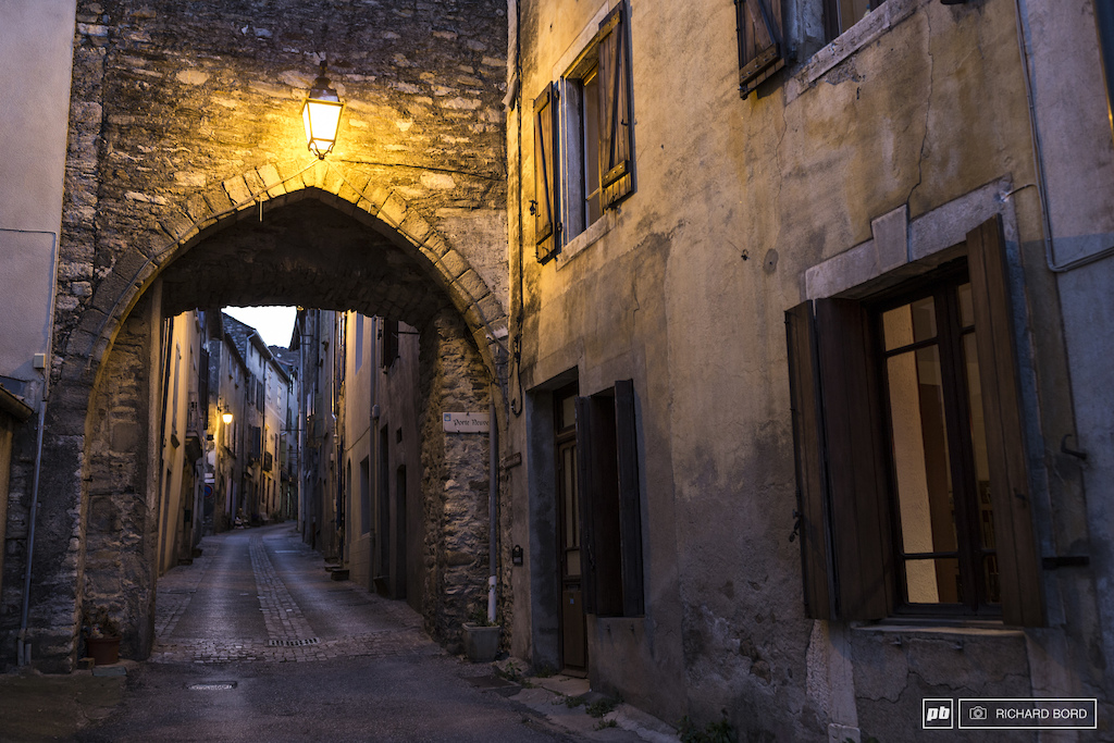 One of the old streets of Olargues