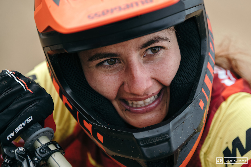 It was an emotional win today for Isabeau Courdurier who finally put her previous bad experiences in Rotorua behind her.