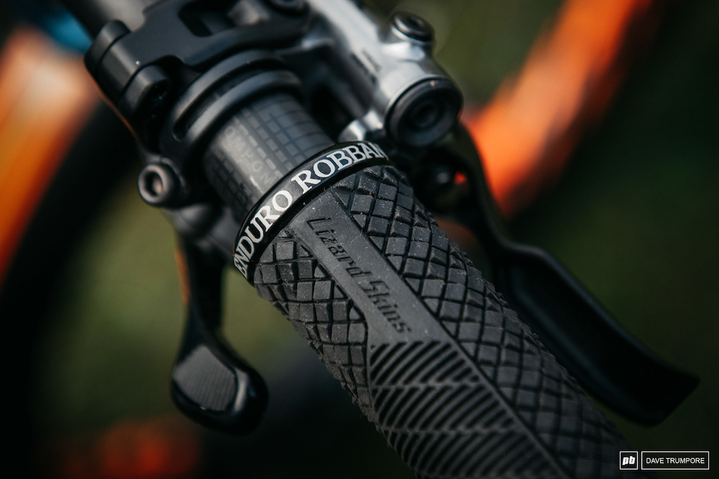 Custom nicknames on all the Ibis rider s grips