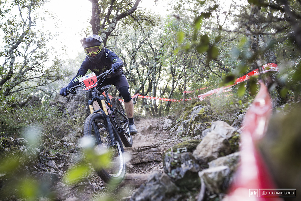 4th place Clement Charles had a consistent week-end on his Radon bike.