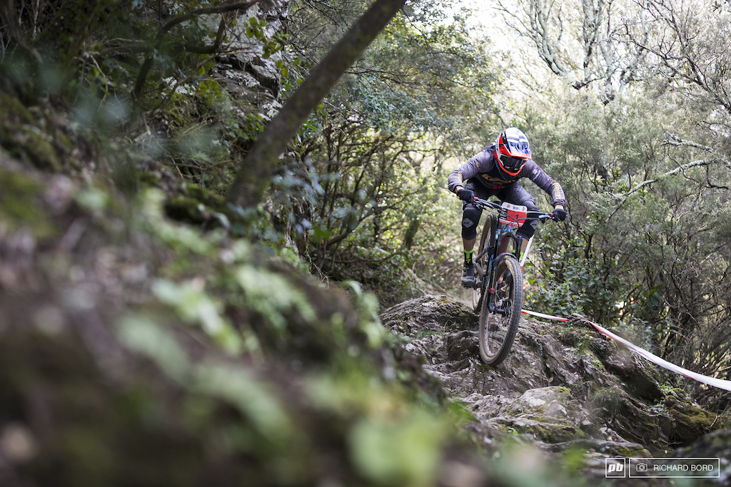 2018 French Enduro Series winner Ludovic Oget was a bit off rythme this week-end with a 14th place.