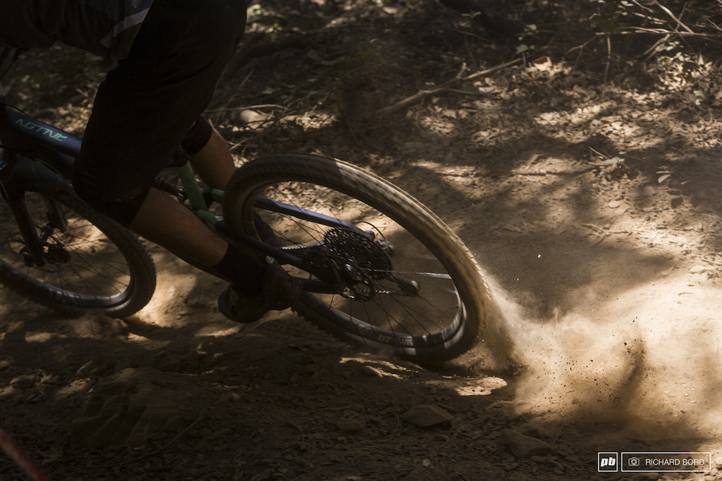 This week-end was all about dust and rocks.