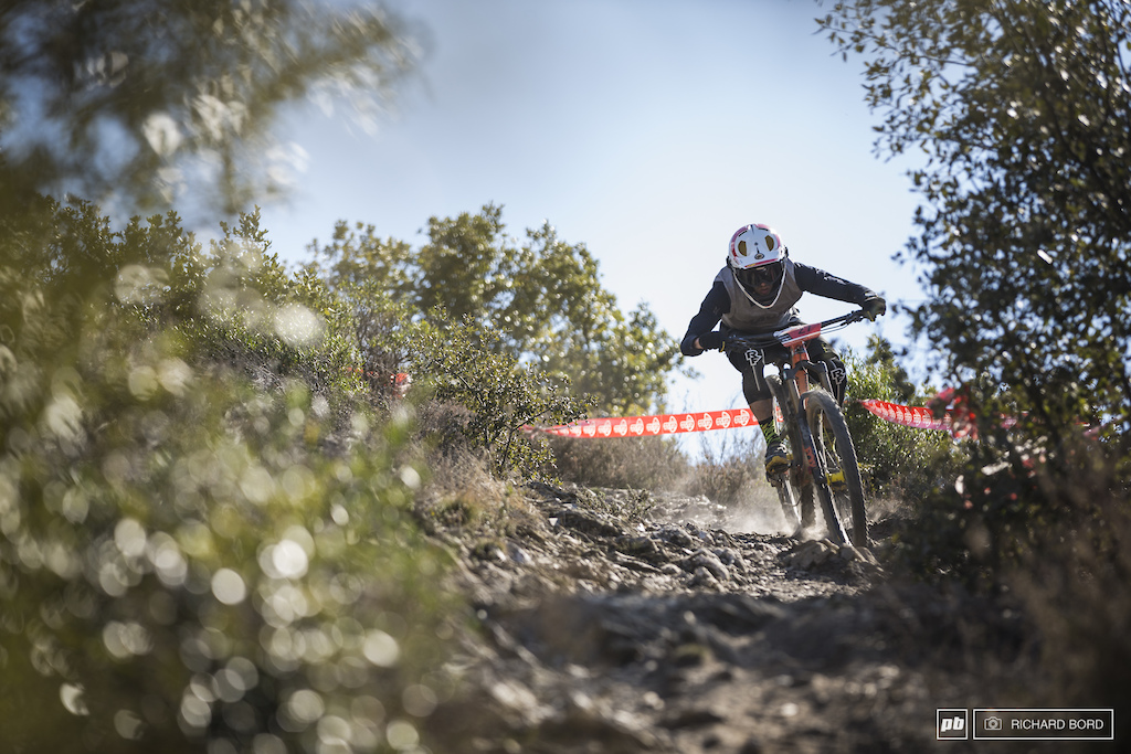 10th place Alexis Chenevier in the last part of Stage 6 on Sunday.