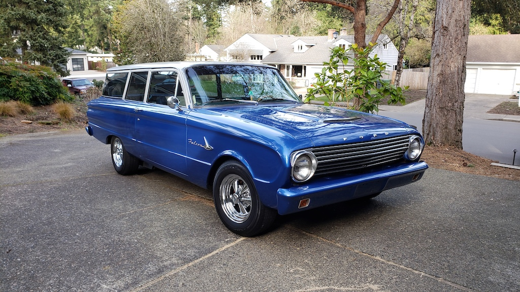 63 2-door Falcon Wagon with a 289 5speed