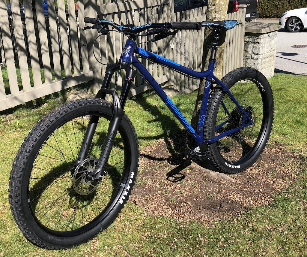 491762a5a77 I had planned to build up from a frame, but in the end my parts picks were  pretty close to what Chromag puts on the ...