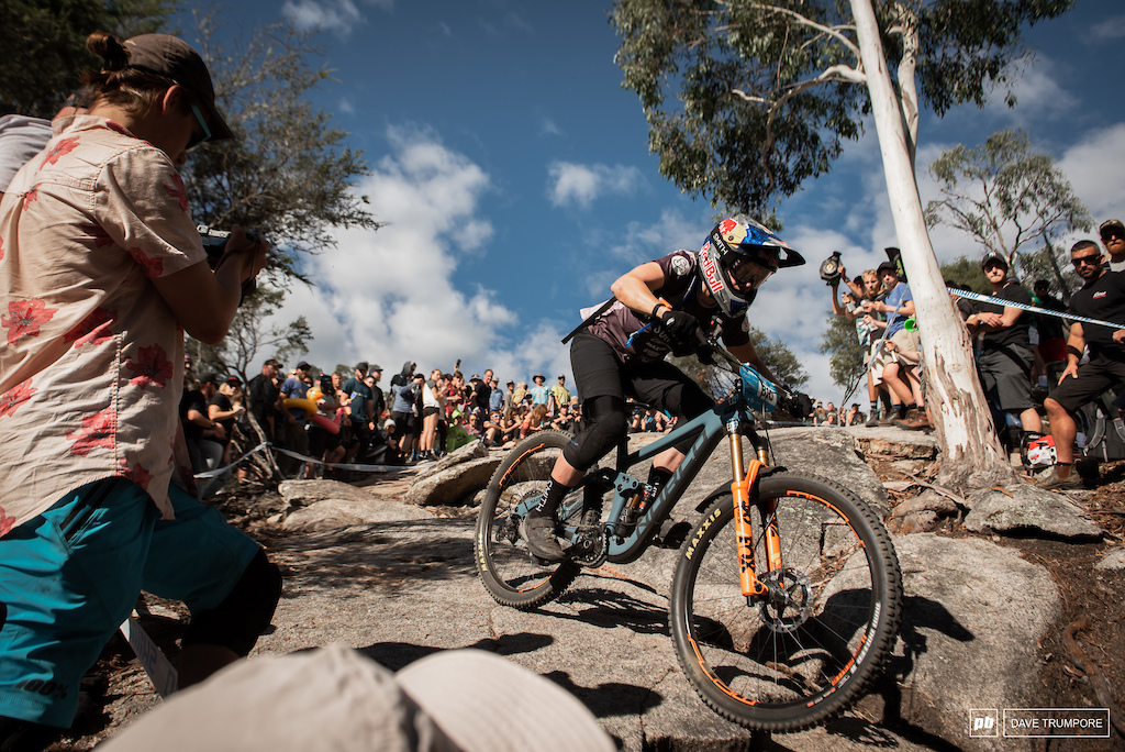 Jill Kintner can now add an EWS podium to her long list of mountain bike racing achievements.