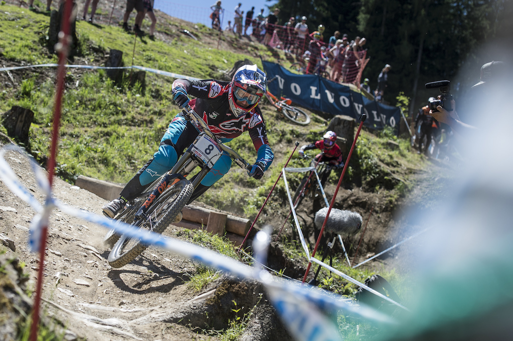 UCI MTB Weltcup Leogang by © Stefan Voitl