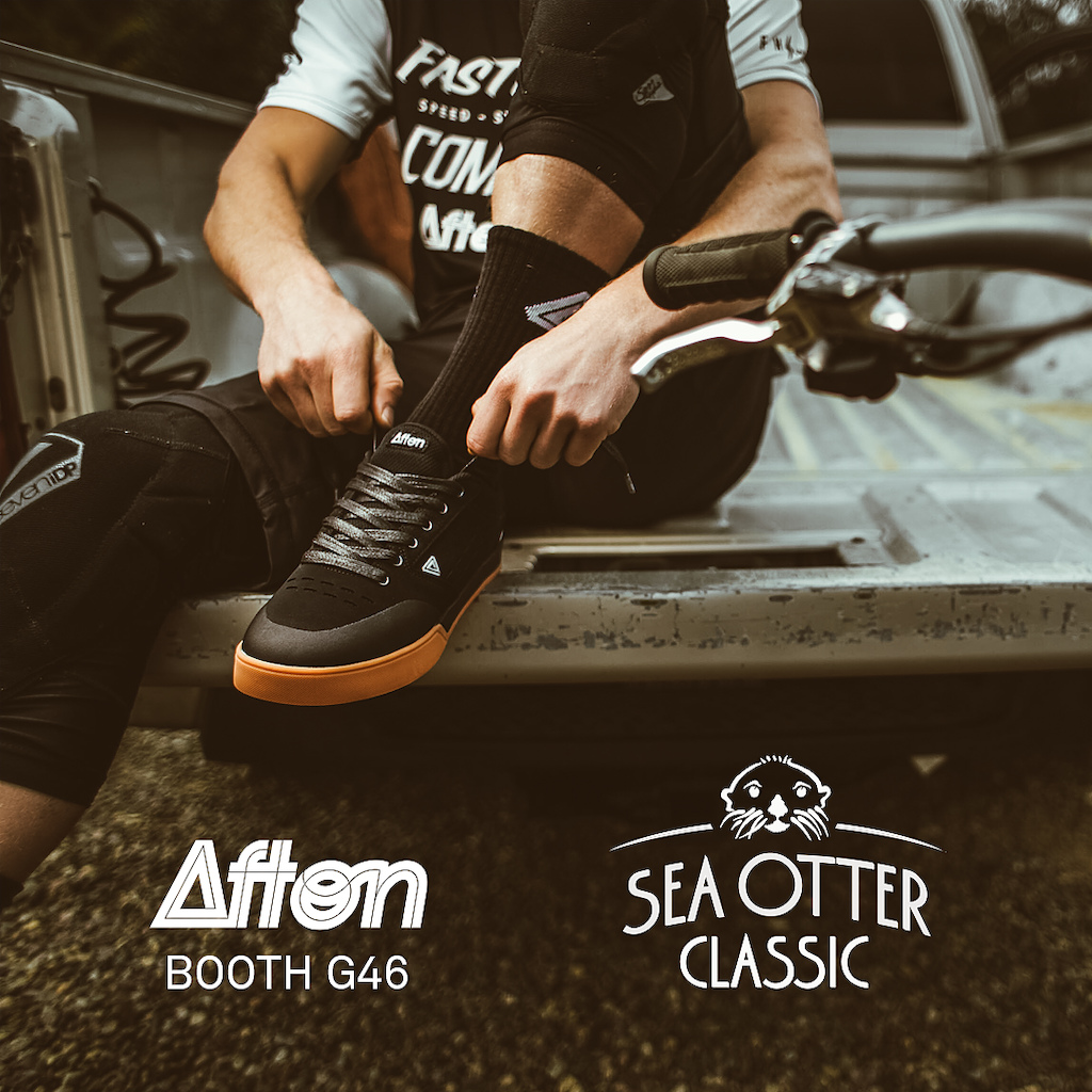 Afton Shoes Official Bicycle Shoe of the Sea Otter Classic