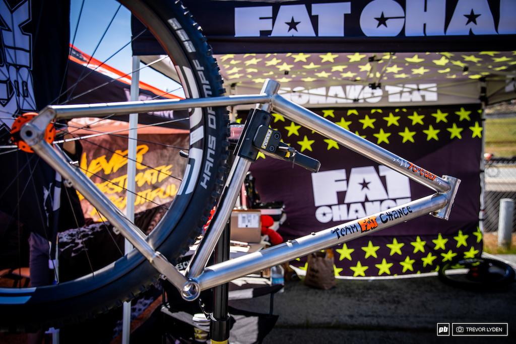 Fat Chance plus size titanium.