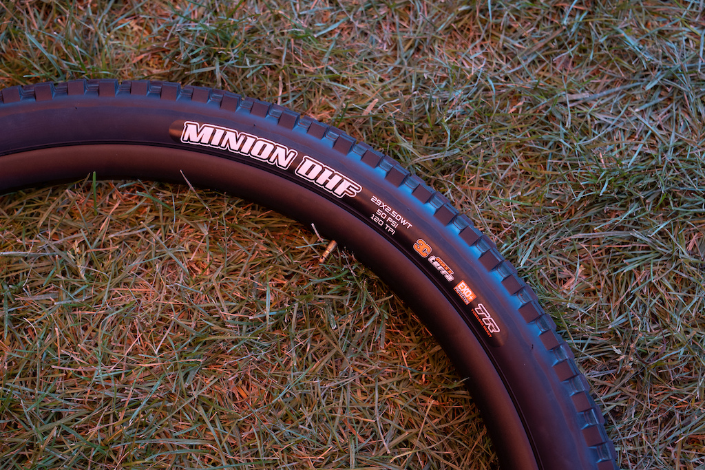 Maxxis Minion DHF: The one tire to rule them all. Available in just about every size that has adorned a mountain bike, the DHF has only recently been matched or beaten for its versatility, grip and durability.
