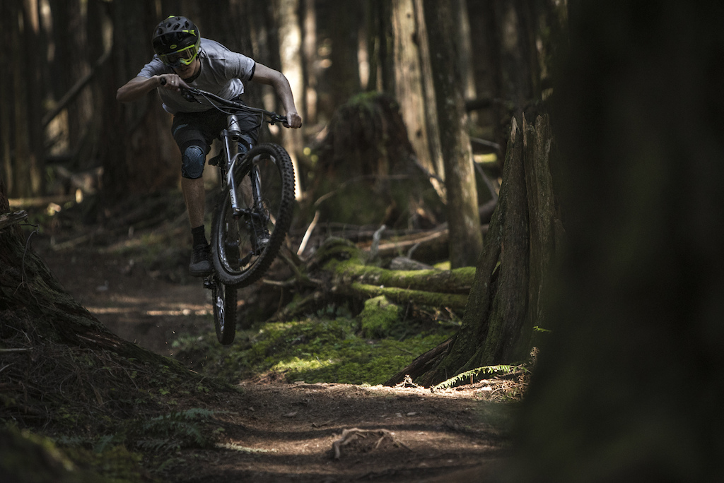 Fun ride in Squamish on one of the best trails .. :)