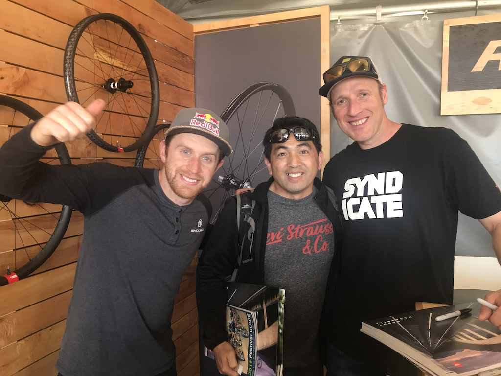 Sea Otter Classic 2019 with  Danny MacAskill and Steve Peat