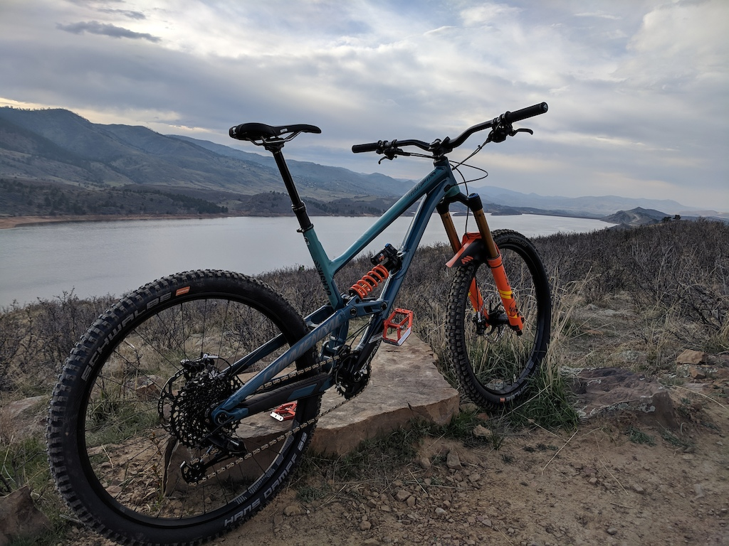 First ride on the Commencal Clash