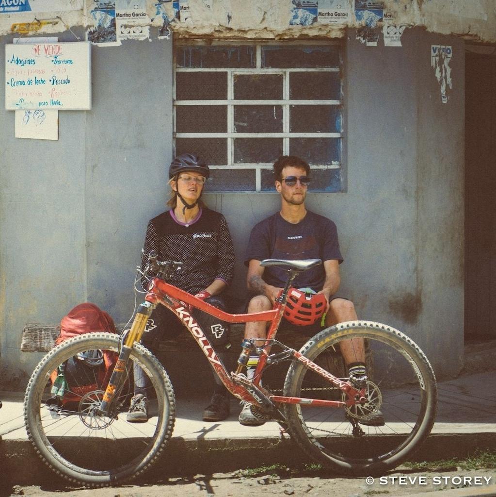 STEVE STOREY PHOTO Taking a shade break somewhere on the way to Macchu Piccu