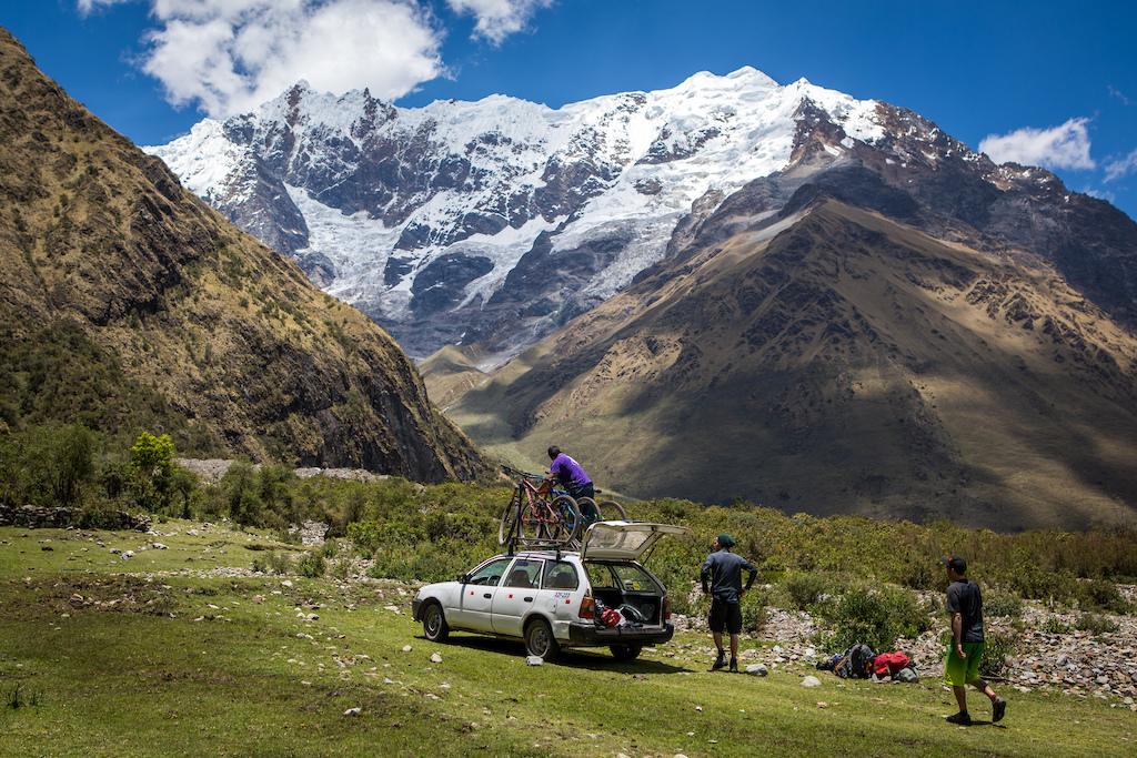 Mountain biking and bike packing Salkantay trek in Peru. Photo by Justa Jeskova