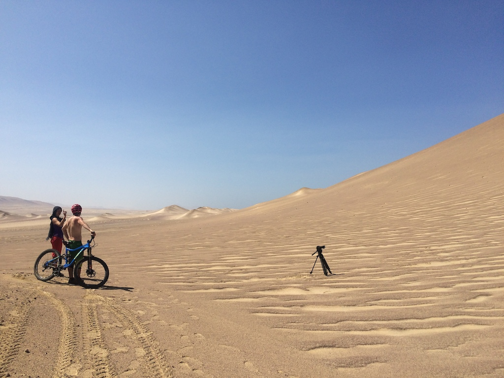 Behind the scenes capturing the dandy dune goodness