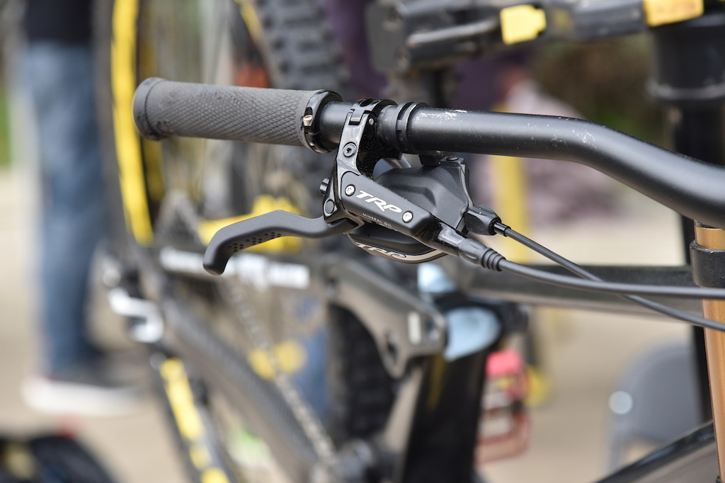 TRP DH-R born from E-bike made for DH.