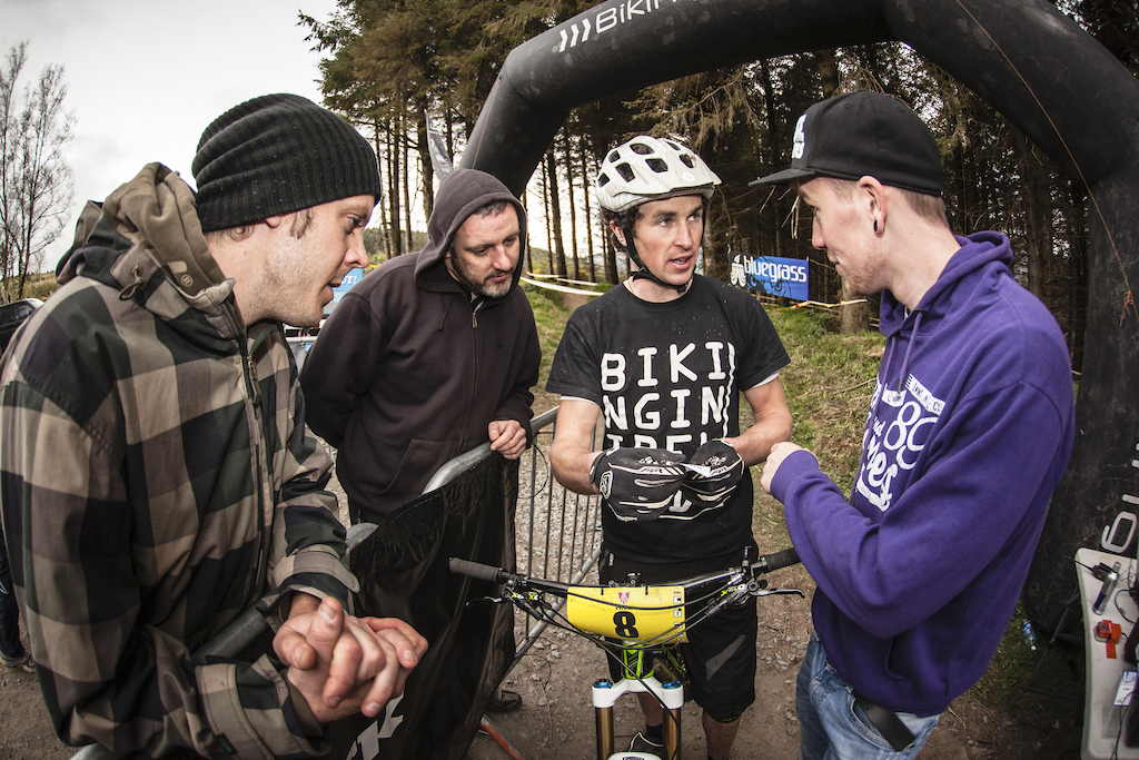 Racing and organizing events at the same time, multipurpose, photo credits @viktorfotomaker