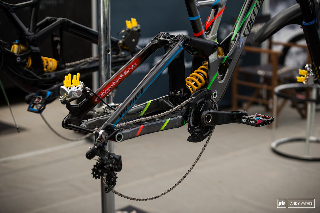 Specialized s new rear end.