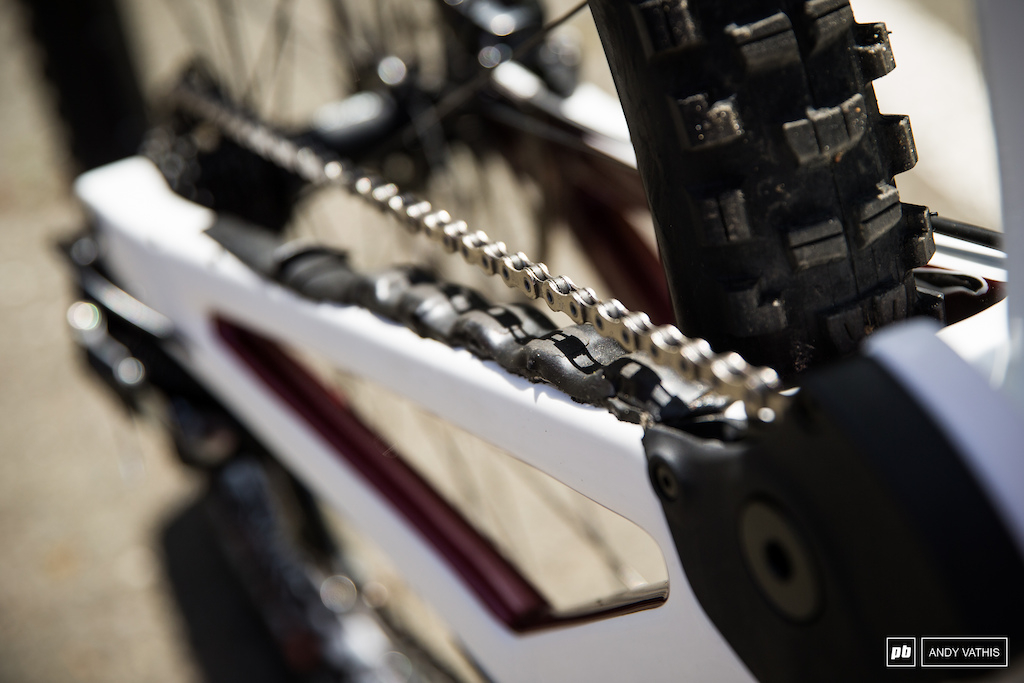 Norco s chainstay details.