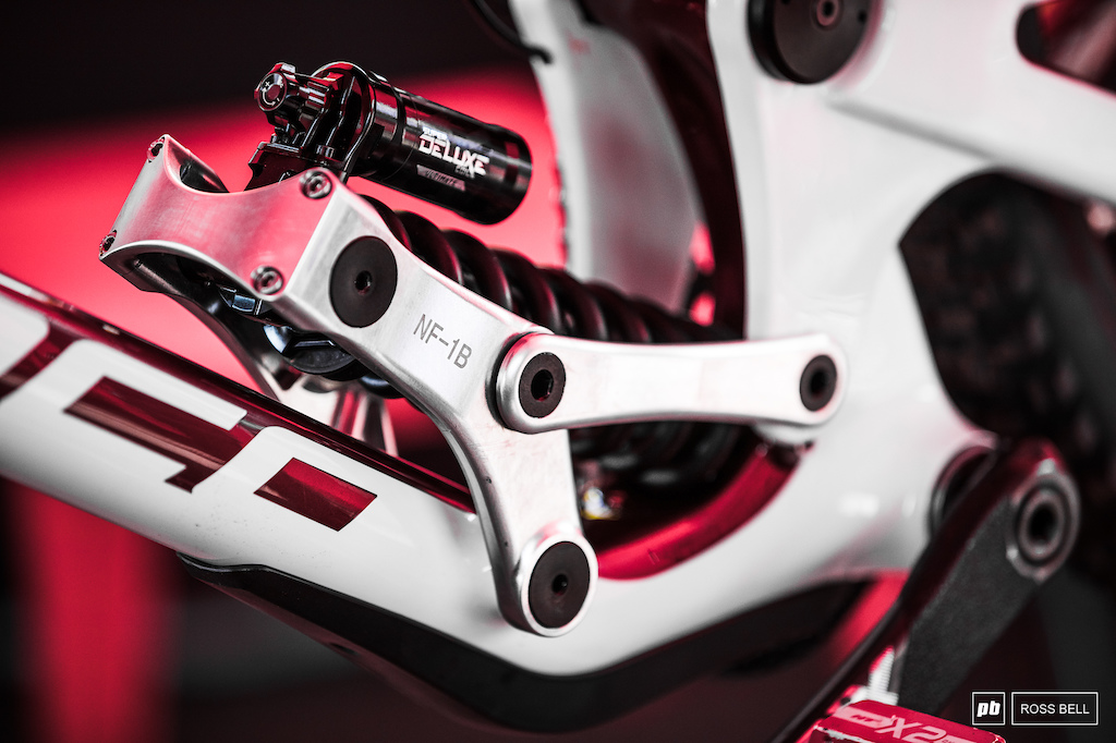 Norco have been experimenting with different linkages there s four for their riders to choose from.