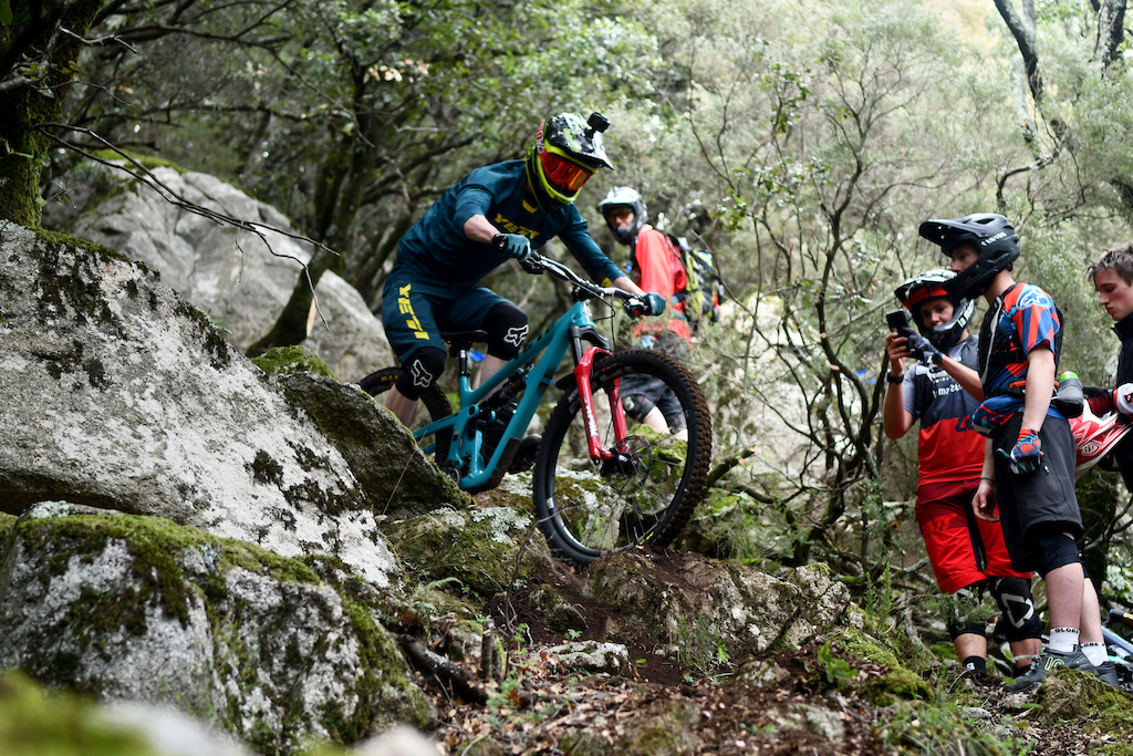 Known photographer Lee Trumpmore changed the camera by the bike for the weekend enjoying each and every bit of the trails
