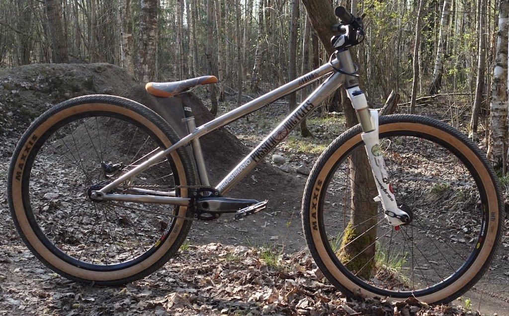 P ssil Bicycles T yr - Titanium Dirt Jump and Slopestyle frame https passilabicycles.com