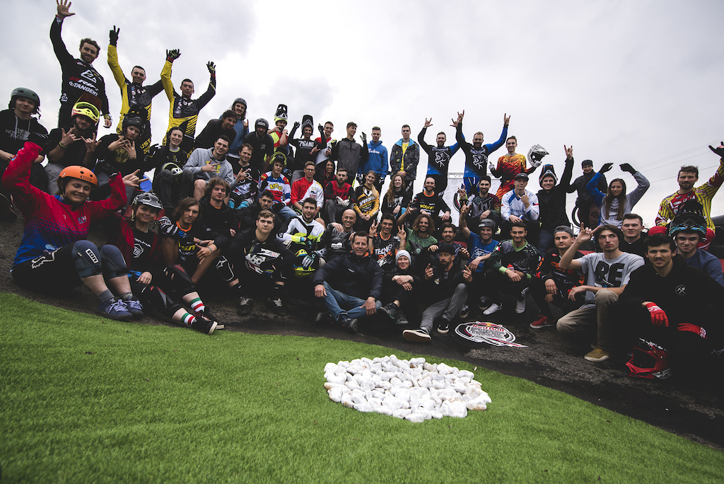 All riders representing at the Italian Qualifier