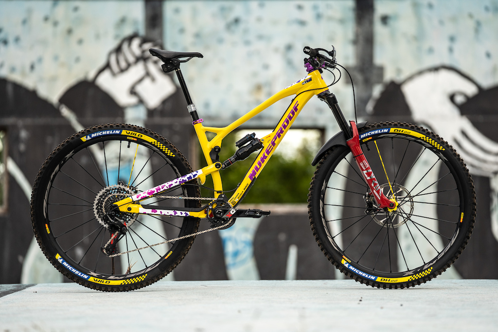 First Look: Sam Hill's Nukeproof Mega 290 - EWS Madeira 2019