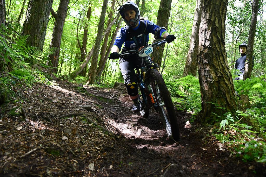 Hanna Harvey feels at home on the Big Wood trails