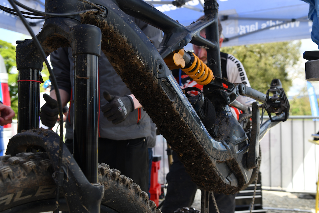 There is an eBike category and man those suffer too on the mud full transmission repair for this one
