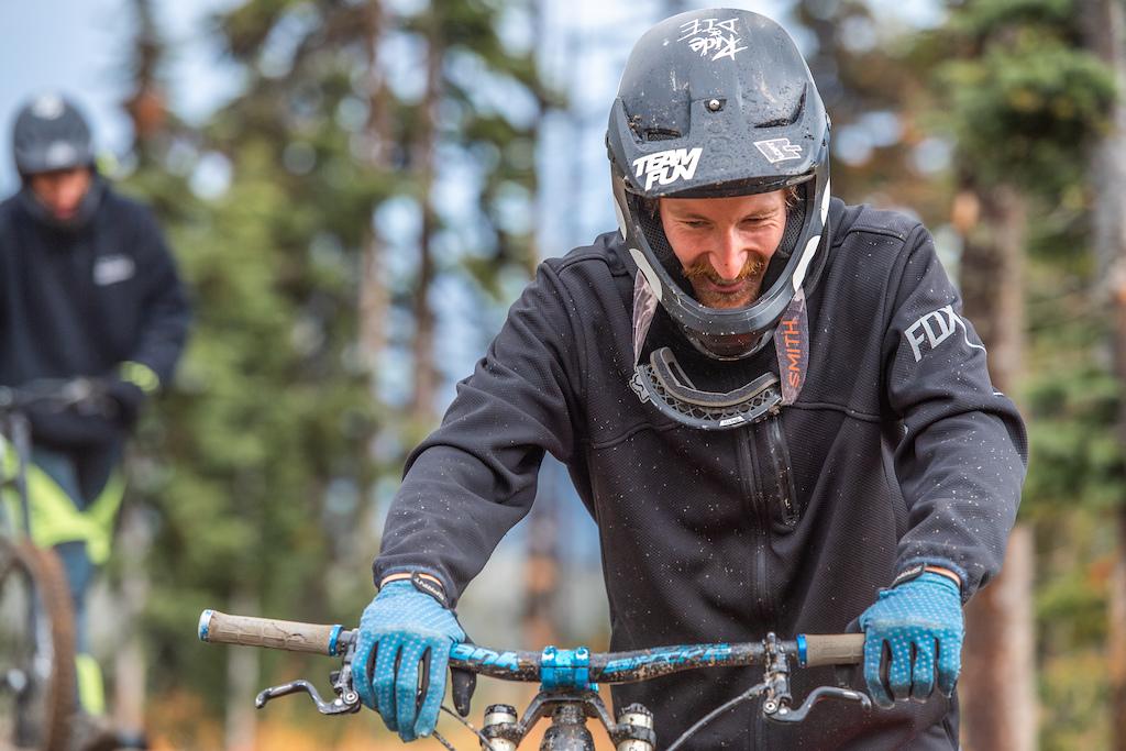 Alexander Chisholme of Loft Bike Parks at Bike Big White. Photographer Andrew Jay