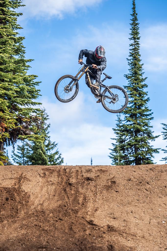 Corbin Selfe of Loft Bike Parks at Bike Big White Photographer Andrew Jay