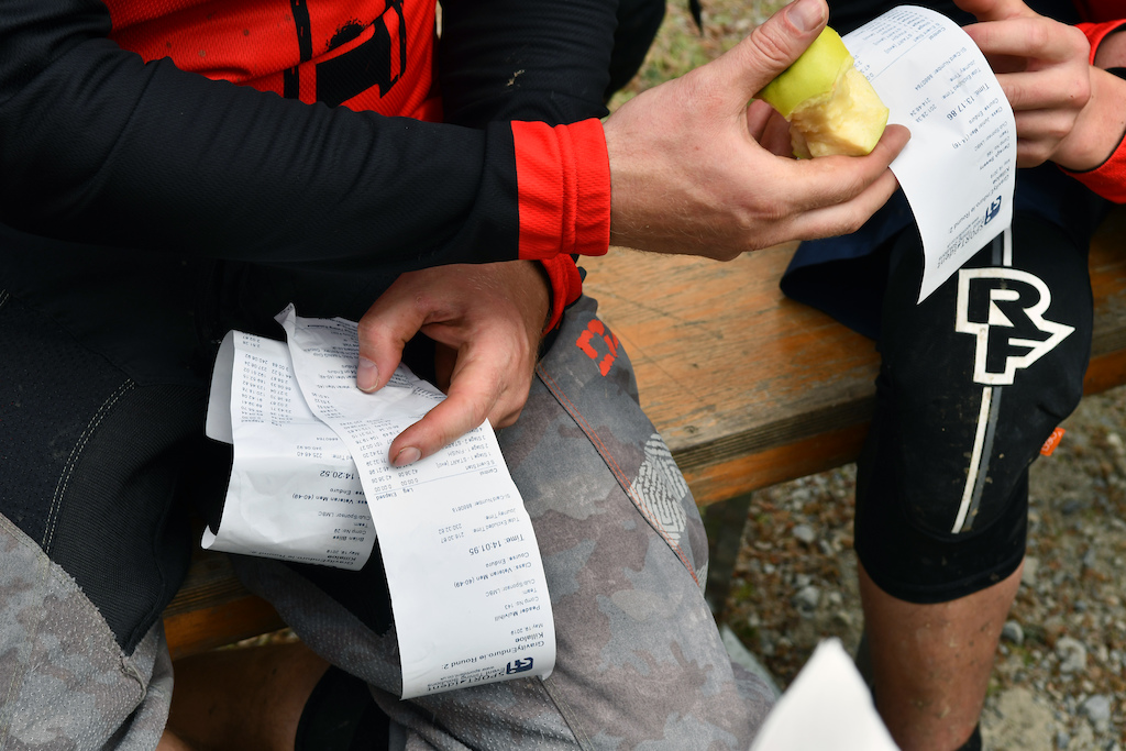 No Strava needed Sportident provinding the timing