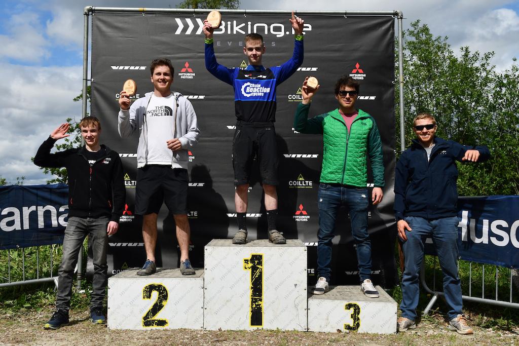 Senior men 20-29 podium