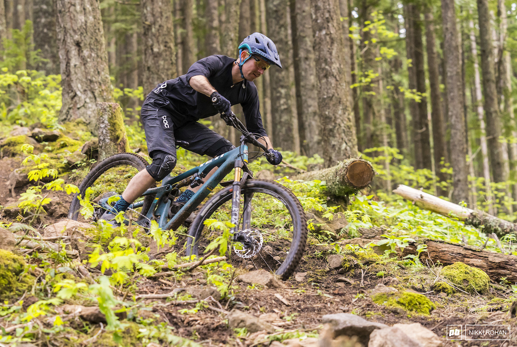 Pierce Martin getting after it in Post Canyon outside of Hood River OR