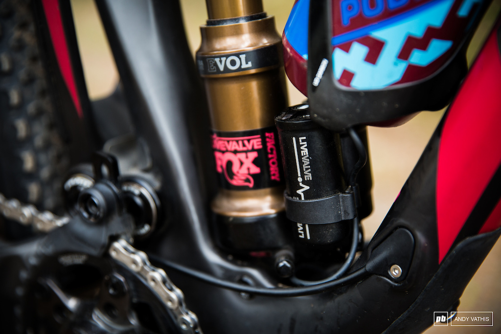 Fox s Live Valve takes care of the bumps.