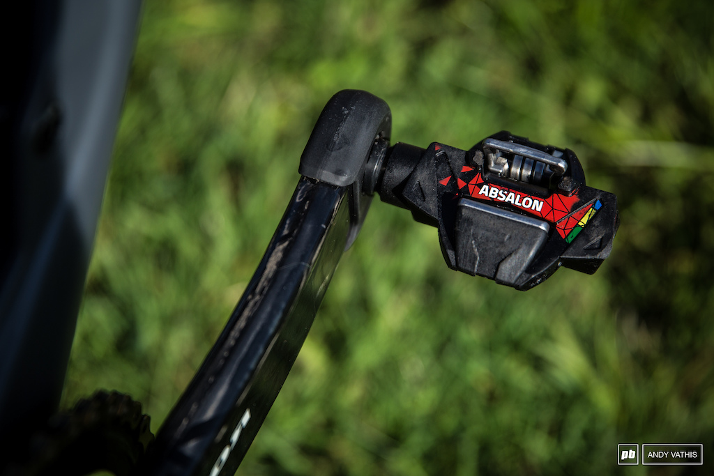 Absalon Time pedals ATAC XC.