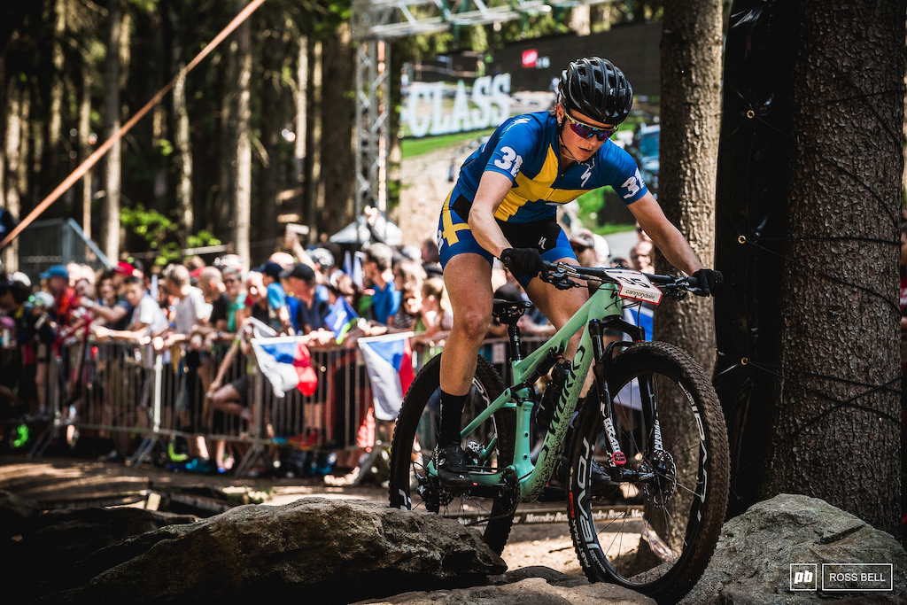 It's good to see Jenny Rissveds back in action at the World Cups. 33rd on the day for the Swede.