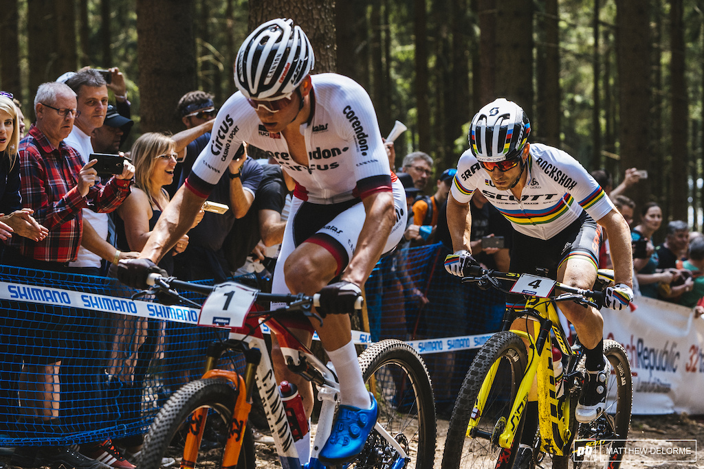The back and forth between Schurter and MVDP was one for the books.