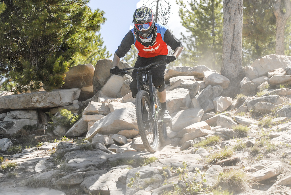 Rough and Raw DH at Granby Ranch Bike Park