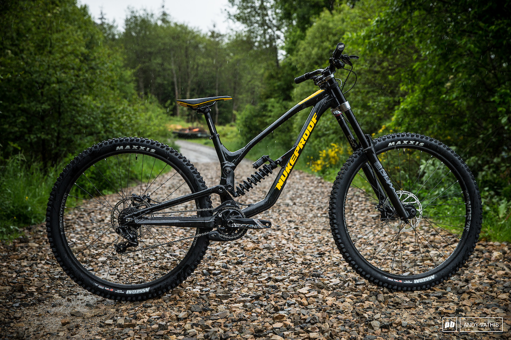 New Nukeproof Dissent DH bike.