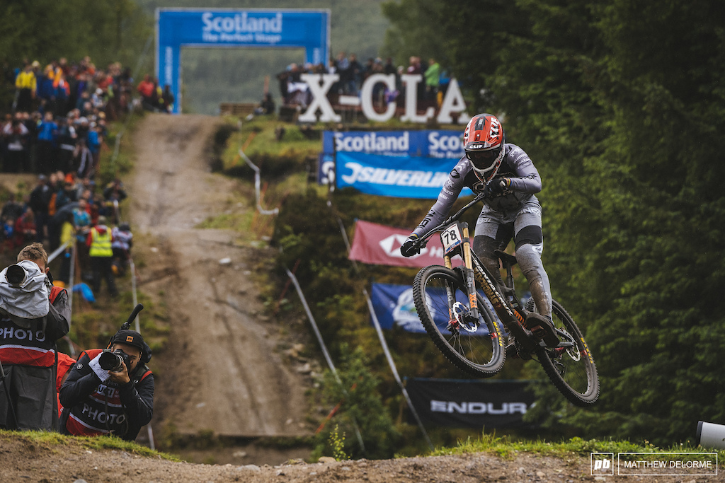 Greg Minnaar goes from not qualifying in Maribor to one off the podium. We knew it was a fluke.