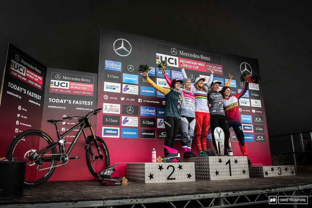 Rachel Atherton takes top honors in Fort William to give Atherton bikes its first ever WC victory.