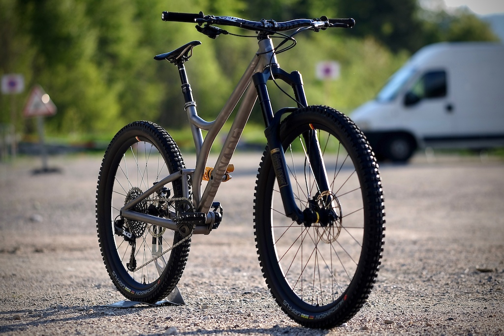 Caminade Shows Off Prototype Titanium Enduro Bike - Pinkbike