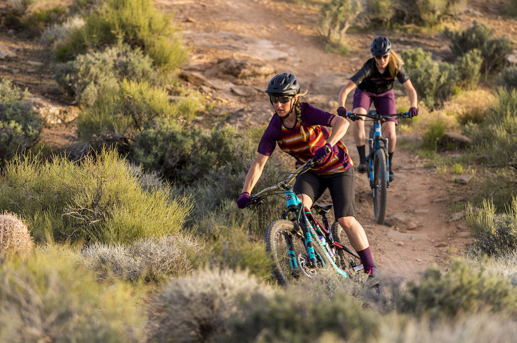 XC riding on the Zen Trail in St George UT