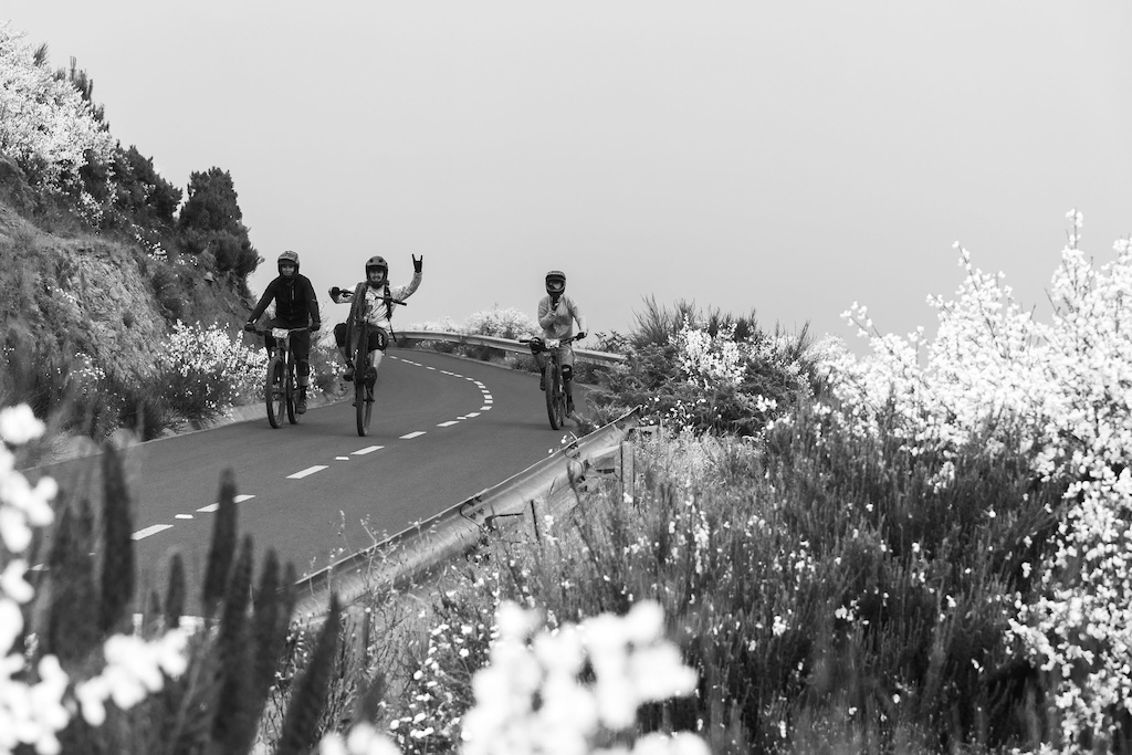 Even the climbs can be fun.