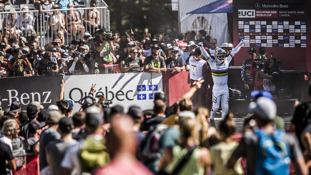 2018 UCI World Cup at Mont-Sainte-Anne