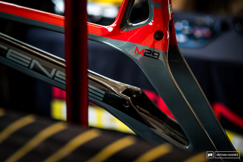 New racing color-ways for the M29 at Intense Factory Racing.