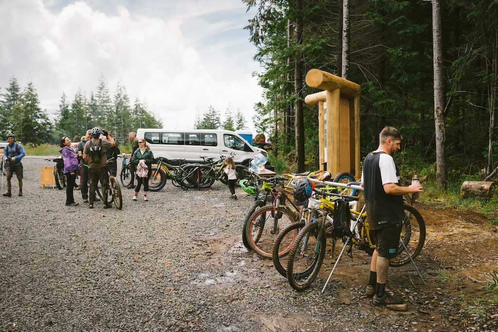 End of ride at Whiskey Run OR. Photo by Jason Fitzgibbon